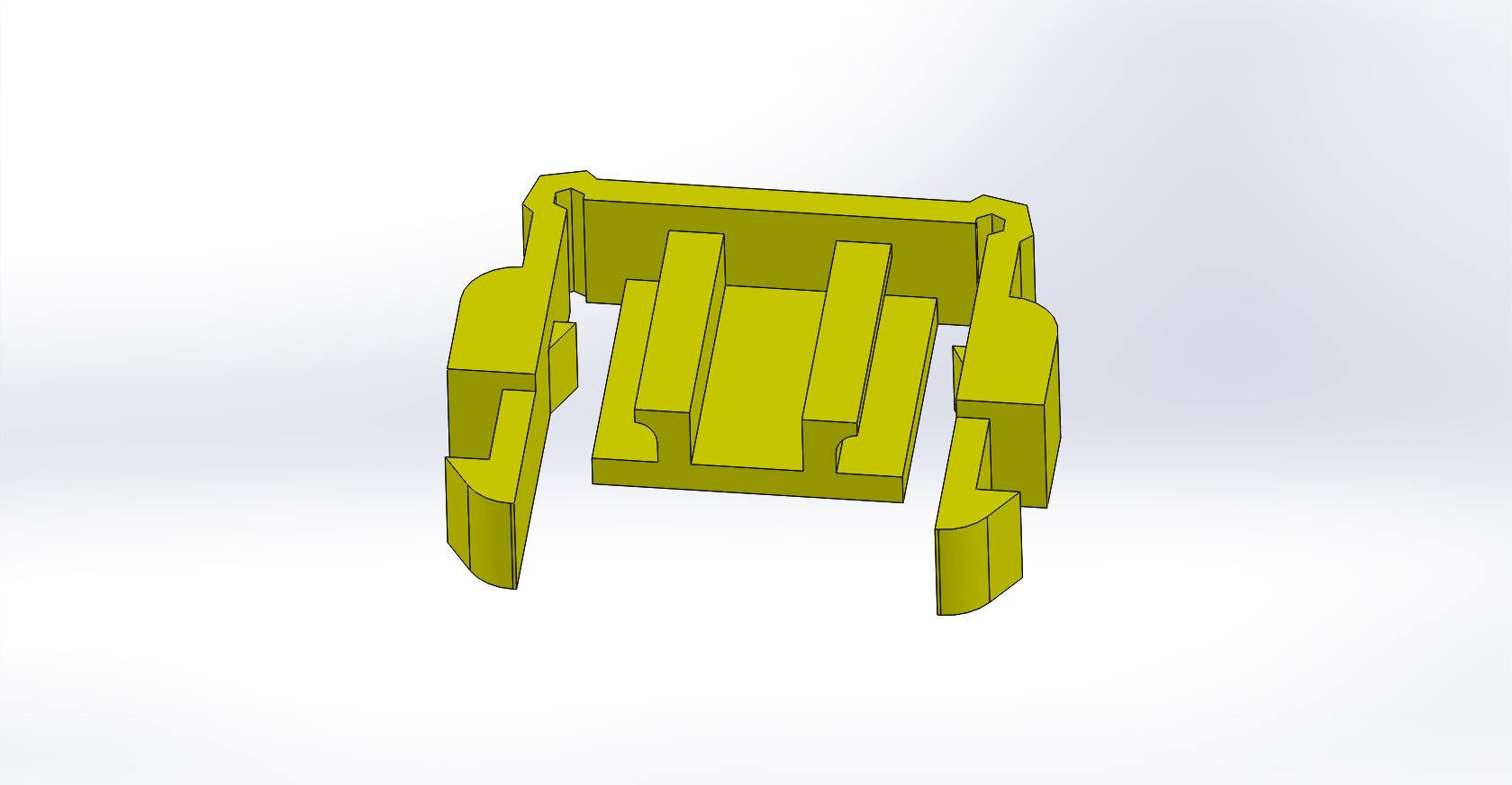 Pig Cage Clip 3D Model