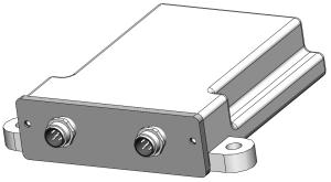 HDEC-000749 IP65 Automotive Electronics Enclosure With Connectors