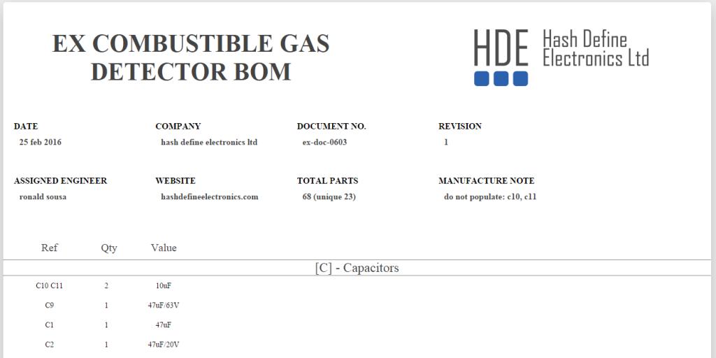 Hash Define Electronics KiCad BOM wizard generator_ feature image Atex