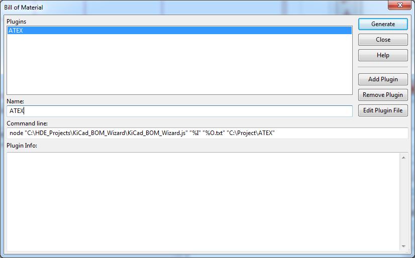 Hash Define Electronics KiCad complex_hierarchy KiCad_BOM_Wizard Eeschema BOM Manager with plugin ATEX