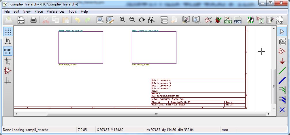 Hash Define Electronics KiCad complex_hierarchy KiCad_BOM_Wizard Eeschema